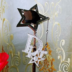 EUC DIOR CHRISTIAN Luxury Crystal Star Bag Charm